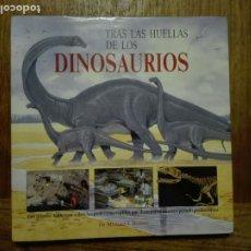 Libros de segunda mano: TRAS LAS HUELLAS DE LOS DINOSAURIOS - DR MICHAEL J BENTON - EDITORIAL ACANTO 1991. Lote 179190091