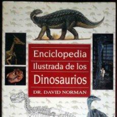 Libros de segunda mano: ENCICLOPEDIA ILUSTRADA DE LOS DINOSAURIOS (DAVID NORMAN / JOHN SIBBICK) SUSAETA, 1992.. Lote 179208323