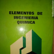 Libros de segunda mano de Ciencias: ELEMENTOS DE INGENIERÍA QUÍMICA. VIAR / OCÓN. COLECCIÓN CIENCIA Y TECNOLOGÍA. AGUILAR. AÑO 1972. RÚS. Lote 179260747