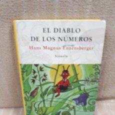 Libros de segunda mano de Ciencias: EL DIABLO DE LOS NÚMEROS - HANS MAGNUS ENZENSBERGER. Lote 179551971