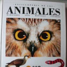 Libros de segunda mano: ENCICLOPEDIA DE LOS ANIMALES, MAMIFEROS,AVES,REPTILES,ANFIBIOS CAM INFORMACION. Lote 180128816