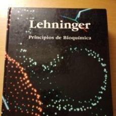 Libros de segunda mano de Ciencias: PRINCIPIOS DE BIOQUÍMICA (ALBERT L. LEHNINGER) EDICIONES OMEGA. Lote 180179712