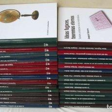 Libros de segunda mano de Ciencias: EL MUNDO ES MATEMÁTICO - 30 LIBROS - RBA 2010 - VER DESCRIPCIÓN Y FOTOS. Lote 180218267