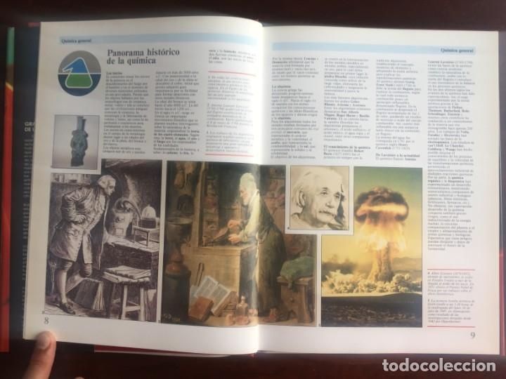Libros de segunda mano de Ciencias: Atlas de Quimica. Colección gran enciclopedia de las ciencias. Completo compendio sobre la química, - Foto 3 - 180255681