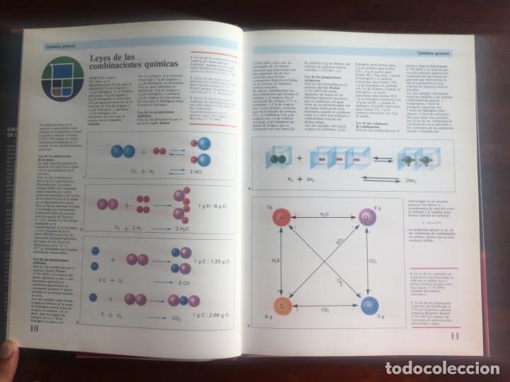 Libros de segunda mano de Ciencias: Atlas de Quimica. Colección gran enciclopedia de las ciencias. Completo compendio sobre la química, - Foto 4 - 180255681