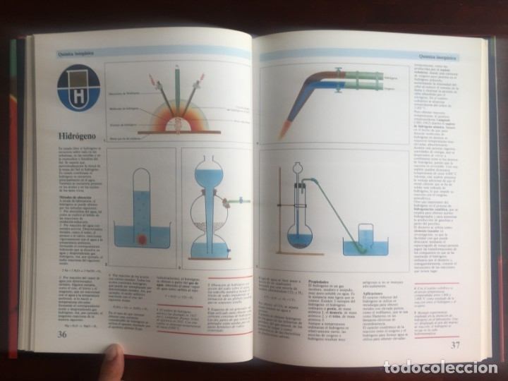 Libros de segunda mano de Ciencias: Atlas de Quimica. Colección gran enciclopedia de las ciencias. Completo compendio sobre la química, - Foto 10 - 180255681