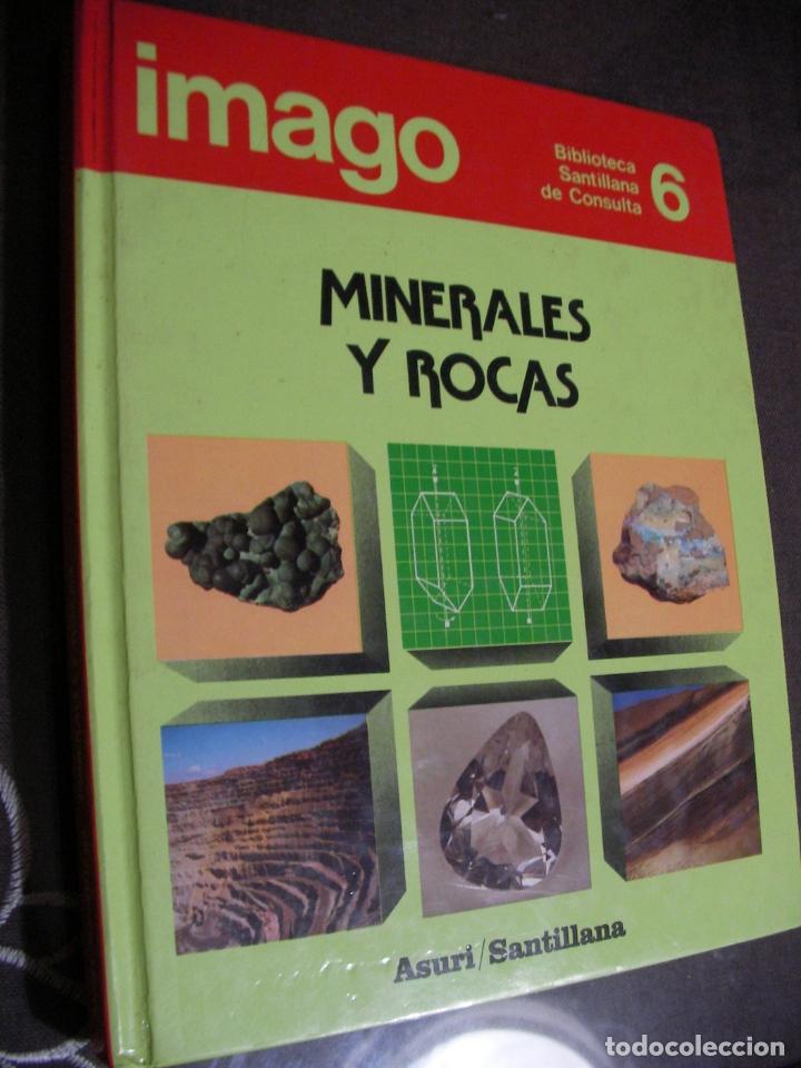 MINERALES Y ROCAS - SANTILLANA (Libros de Segunda Mano - Ciencias, Manuales y Oficios - Paleontología y Geología)