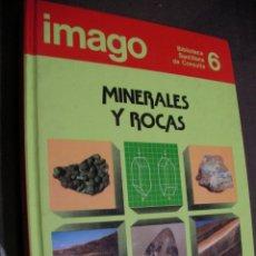 Libros de segunda mano: MINERALES Y ROCAS - SANTILLANA. Lote 180280340