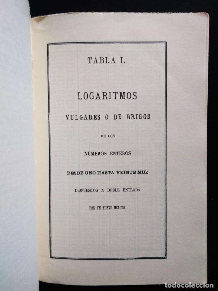 Libros de segunda mano de Ciencias: TABLAS DE LOS LOGARITMOS VULGARES | VICENTE VÁZQUEZ | HERNANDO 1974 - Foto 5 - 180282173