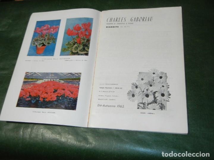 Libros de segunda mano: CATALOGO ÉTÉ AUTOMNE ANNEE 1965 CHARLES GABORIAU GRAINES -BIARRITZ - Foto 2 - 180271732
