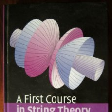 Libros de segunda mano de Ciencias: A FIRST COURSE IN STRING THEORY (CAMBRIDGE) - BARTON ZWIEBACH. Lote 180425613