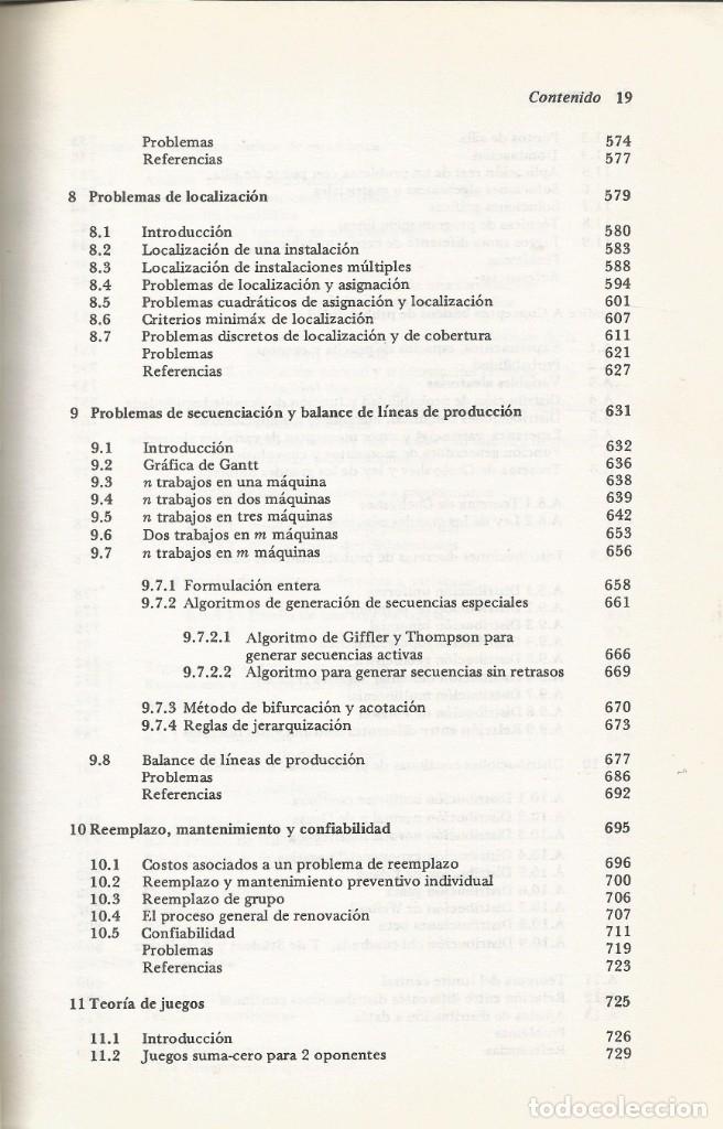 Libros de segunda mano de Ciencias: Métodos y modelos de investigación de operaciones. 2 vol. Juan Prawda. Matemáticas superiores. - Foto 4 - 180427783