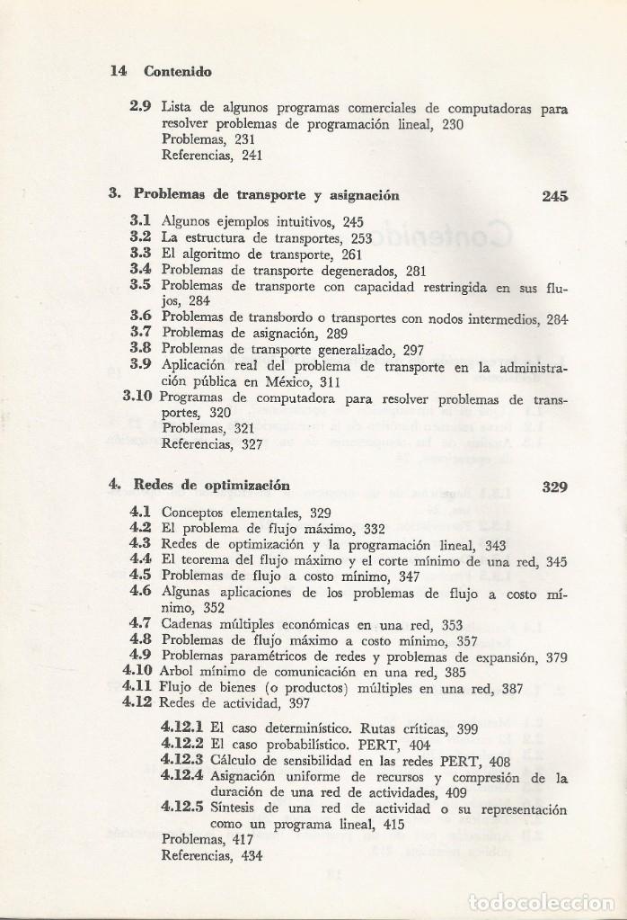 Libros de segunda mano de Ciencias: Métodos y modelos de investigación de operaciones. 2 vol. Juan Prawda. Matemáticas superiores. - Foto 9 - 180427783