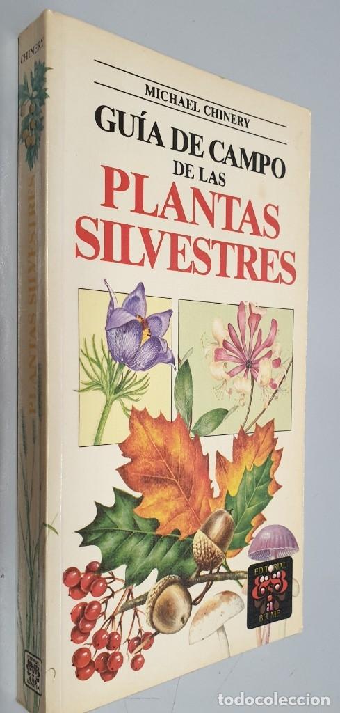 GUIA DE CAMPO DE LAS PLANTAS SILVESTRES - MICHAEL CHINERY / EDITORIAL BLUME 1ª EDICION 1988 (Libros de Segunda Mano - Ciencias, Manuales y Oficios - Biología y Botánica)
