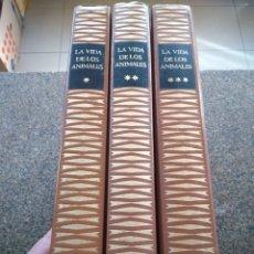 Libros de segunda mano: LA VIDA DE LOS ANIMALES -- 3 TOMOS COMPLETA -- PLANETA 1972 --. Lote 180881437
