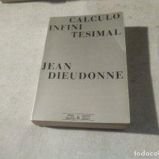 Libros de segunda mano de Ciencias: CÁLCULO INFINITESIMAL - JEAN DIEUDONNE - COLECCIÓN MÉTODOS - OMEGA - BARCELONA. Lote 180987632