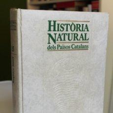 Libros de segunda mano: HISTÒRIA NATURAL DELS PAÏSOS CATALANS. VOLUM 15. REGISTRE FÒSSIL. ESTRATIGRAFIA. PALEONTOLOGIA. Lote 181190362