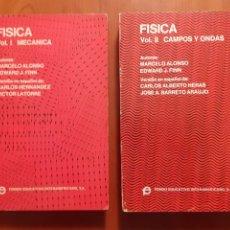 Libros de segunda mano de Ciencias: FÍSICA. MARCELO ALONSO Y EDWARD J. FINN. MADRID, 1970. Lote 181222975