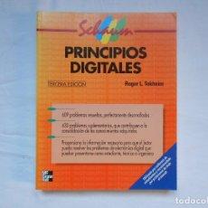 Libri di seconda mano: PRINCIPIOS DIGITALES - ROGER L. TOKHEIM - MC GRAW - HILL - TERCERA EDICIÓN - 2001. Lote 181314153