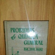Libros de segunda mano de Ciencias: PROBLEMAS DE QUÍMICA GENERAL (1965). Lote 181468447