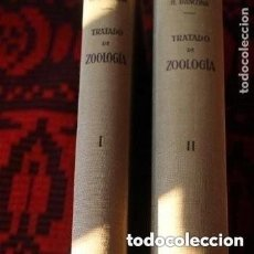 Libros de segunda mano: TRATADO DE ZOOLOGIA TOMO I-II. Lote 181534201