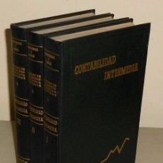 Libros de segunda mano de Ciencias: TRATADO DE CONTABILIDAD INTERMEDIA. COMPLETO 3 TOMOS. MATEMATICAS COMERCIAL.. Lote 181695908