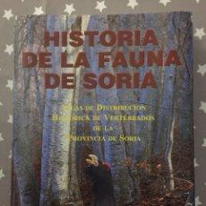 Libros de segunda mano: HISTORIA DE LA FAUNA DE SOIRA, TOMO 2, JOSE MIGUEL GARCIA Y ASENSIO. Lote 181787006