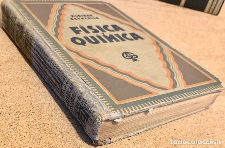 Libros de segunda mano de Ciencias: 1938, COMPENDIO DE FÍSICA Y QUÍMICA. Juan Kleiber y José Estalella. - Foto 2 - 181906467