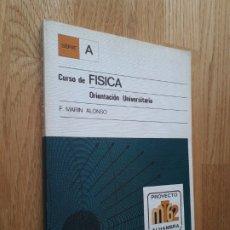 Libros de segunda mano de Ciencias: CURSO DE FÍSICA: ORIENTACIÓN UNIVERSITARIA / F. MARÍN ALONSO / EDITORIAL ALHAMBRA - 1ª EDICIÓN, 1978. Lote 182138682
