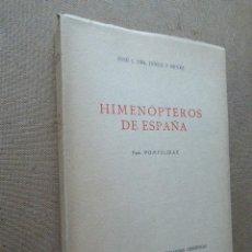Libros de segunda mano: HIMENÓPTEROS DE ESPAÑA. JOSE J. DEL JUNCO Y REYES. CSIC, 1960. 357 PP. ILUSTRADO.. Lote 182156037
