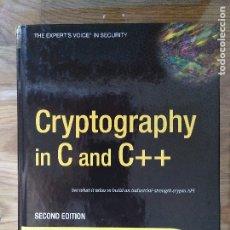 Libros de segunda mano de Ciencias: CRYPTOGRAPHY IN C AND C++ WELSCHENBACH. Lote 182276690