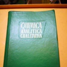 Libros de segunda mano de Ciencias: QUÍMICA ANALÍTICA CUALITATIVA - CERTIF 6,99. Lote 182300520