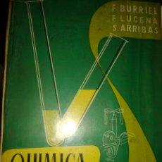 Libros de segunda mano de Ciencias: QUÍMICA ANALÍTICA CUALITATIVA. TEORÍA Y SEMIMICROMETODOS. BURRIEL, LUCENA, ARRIBAS. PARANINFO. AÑO 1. Lote 182397407