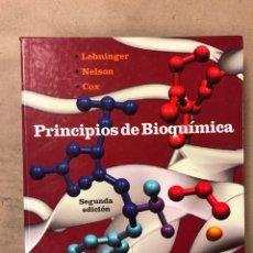 Libros de segunda mano de Ciencias: PRINCIPIOS DE BIOQUÍMICA. LEHNINGER - NEMSON - COX. EDICIONES OMEGA 1995. PROFUSAMENTE ILUSTRADO. Lote 182541348