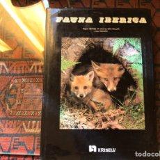 Libros de segunda mano: FAUNA IBÉRICA. MIGUEL IBÁÑEZ. Lote 182739142