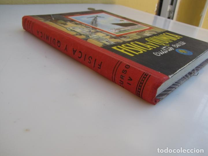 Libros de segunda mano de Ciencias: Física y química. Edelvives. 1961. Cuarto curso - Foto 2 - 182836547