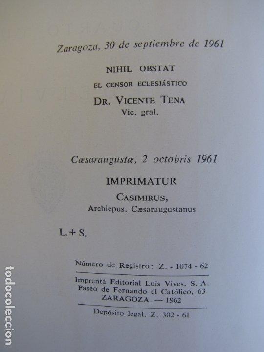 Libros de segunda mano de Ciencias: Física y química. Edelvives. 1961. Cuarto curso - Foto 4 - 182836547