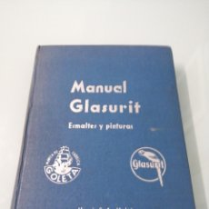 Libros de segunda mano de Ciencias: MANUAL GLASURIT. ESMALTES Y PINTURAS. DR. ING K. TH. WIDMANN. 1954.. Lote 197352427