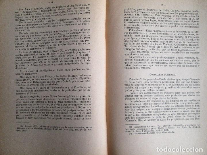 Libros de segunda mano: LA TECTONICA PENINSULAR Y SU RELACION CON LAS AGUAS MINEROMEDICINALES - Foto 3 - 183252875