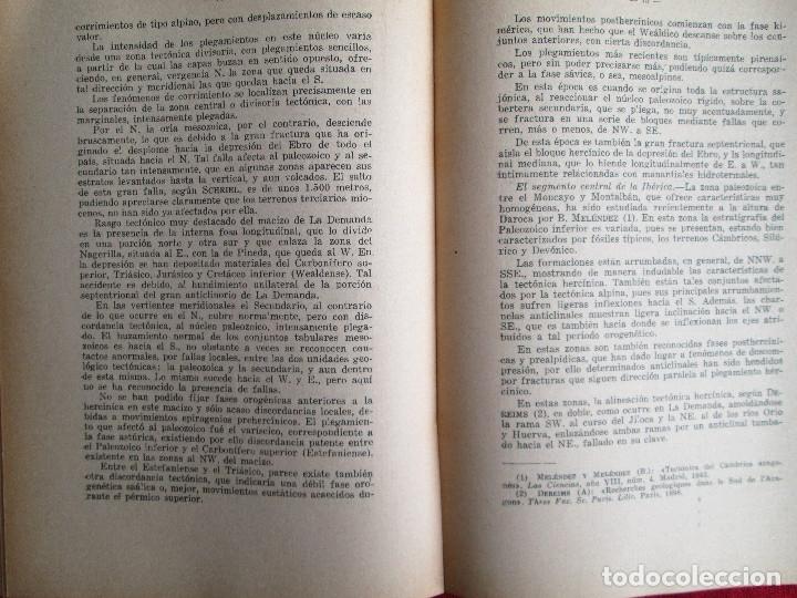 Libros de segunda mano: LA TECTONICA PENINSULAR Y SU RELACION CON LAS AGUAS MINEROMEDICINALES - Foto 4 - 183252875