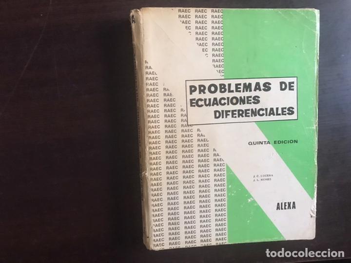 PROBLEMAS DE ECUACIONES DIFERENCIALES.ALEXA (Libros de Segunda Mano - Ciencias, Manuales y Oficios - Física, Química y Matemáticas)