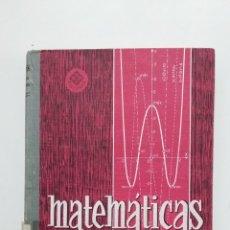 Libros de segunda mano de Ciencias: MATEMATICAS. 6º SEXTO CURSO. EDELVIVES. 1967 LUIS VIVES ZARAGOZA. TDK426. Lote 183413508