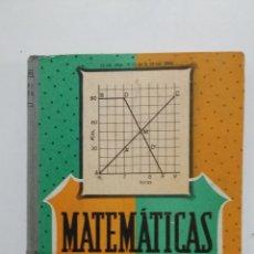Libros de segunda mano de Ciencias: MATEMATICAS. TERCER CURSO. EDELVIVES. 1966 LUIS VIVES ZARAGOZA. TDK426. Lote 183413730