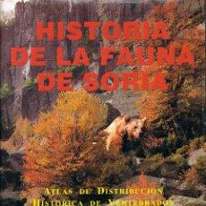 Libros de segunda mano: HISTORIA DE LA FAUNA DE LA PROVINCIA DE SORIA (JOSE Mª GARCIA ASENSIO), VER INDICE. Lote 183420506