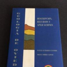 Libros de segunda mano: GEOLOGÍA DE OVIEDO POR GUTIÉRREZ CLAVEROL Y TORRES ALONSO - EDICIONES PARAÍSO EN OVIEDO 1995 + PLANO. Lote 183519457