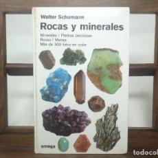 Libros de segunda mano: ROCAS Y MINERALES, DE WALTER SCHUMANN. OMEGA. Lote 183554108