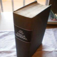 Libros de segunda mano de Ciencias: FISICA GENERAL. SEARS Y ZEMANSKY. Lote 183561701