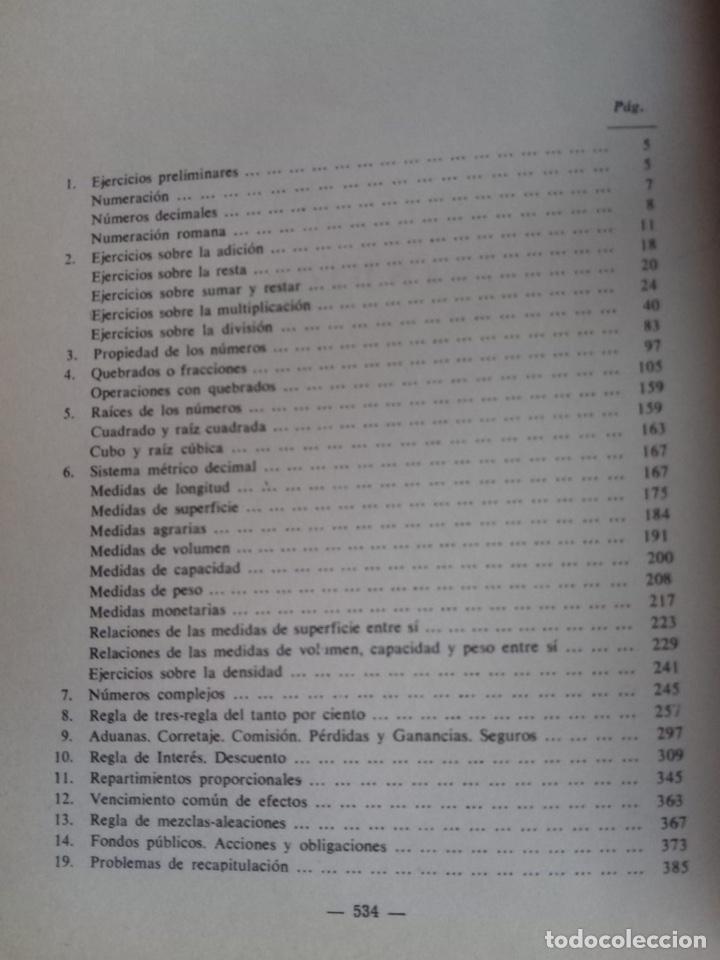Libros de segunda mano de Ciencias: Tratado de aritmética tercer grado solucionario Ed bruño - Foto 2 - 183591508