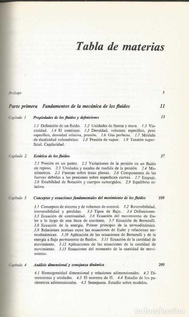 Libros de segunda mano de Ciencias: Mecánica de los fluidos. Streeter-Wylie. 6a. Edición. - Foto 2 - 183855792