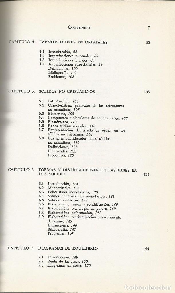 Libros de segunda mano de Ciencias: Ciencia de los materiales. 3 tomos. W. Moffatt-G. Pearsall-J. Wulff. - Foto 4 - 183857123